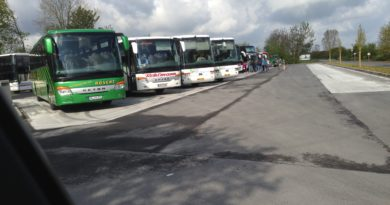 LVR – Busparkplatz Xanten